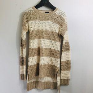 Rue 21 striped long tunic sweater. Medium
